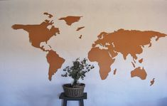 Laser Cutting. Laser Cutting, Map, World, Home Decor, Decoration Home, Room Decor, Location Map, Maps, The World