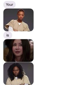 A naughty text message that only OITNB fans would get... Orange is the New Black
