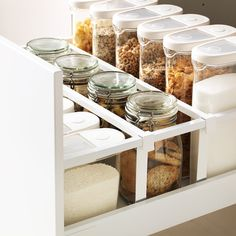 p/metod-maximera-hochschrank-m-schubladen-weiss-ringhult-weiss - The world's most private search engine Ikea Kitchen Drawer Organization, Ikea Kitchen Drawers, Ikea Organisation, Kitchen Ikea, Kitchen Pantry, Kitchen Decor, Cabinet Organizers, Ivory Kitchen, Kitchen White