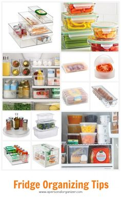 Tips to get your fridge organized -and stay that way!