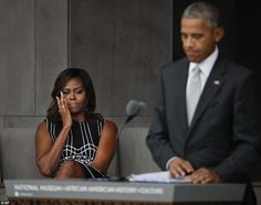 And he wasn't the only one - Michelle was also brought to tears by her husband's emotional...
