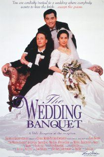 THE WEDDING BANQUET (1993)  dir. by Ang Lee  http://www.imdb.com/title/tt0107156/  Nominated for an Academy Award for Best Foreign Language Feature & Winner of The Golden Bear For Best Film at the Berlin Film Festival.