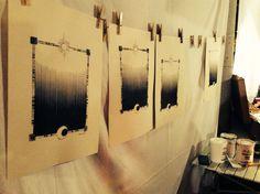 La luna ci ha parlato! Il workshop di serigrafia gestito da SeriousGrafia. Mini, Photo Wall, Frame, Decor, La Luna, Decorating, Fotografie, Inredning, Frames