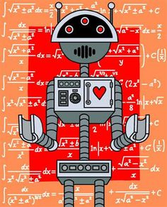 I AM LOVE ROBOT. LET ME CALCULATE HOW MUCH I LOVE YOU.