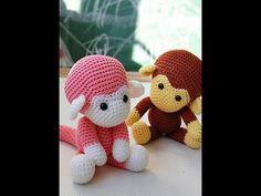 Crochet Along & Make A Monkey Cách đan con khỉ cực độc đáo cực nhanh rất hay và đẹp nhất