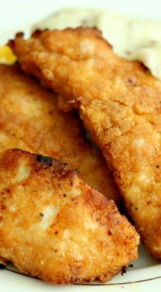The Best Oven-Fried Chicken Recipe ~ All the flavour of KFC without the grease!