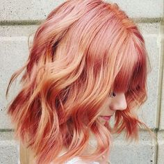 What Is The Blorange Hair Color Trend?