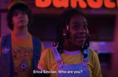 "Bunman' Clash - Stranger Things 3 Clip,Funny, Funny Categories Fuunyy ""Why is is four-year-old talking to me?"" ""I& ten, you bald bastard. Stranger Things Demogorgon, Stranger Things Have Happened, Stranger Danger, Stranger Things Aesthetic, Stranger Things Upside Down, Thing 1, Film Serie, Best Shows Ever, Favorite Tv Shows"