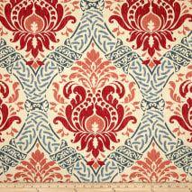 Damask Decor, Decoupage, Waverly Fabric, Kitchen Fabric, Diy Pillows, Accent Pillows, Drapery Fabric, Wall Fabric, Curtain Material