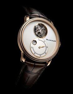 Blancpain Villeret Tourbillon Volant Heure Sautante Minute Retrograde   blancpain  watchtime  tourbillonwatch  menswatches d08e588858a