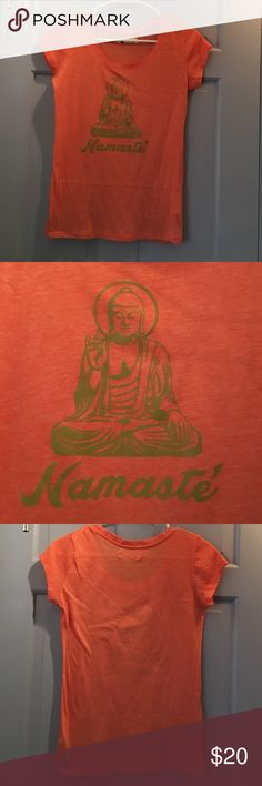 ⭐️NAMASTE GRAPHIC TEE⭐️ ⭐️NAMASTE GRAPHIC TEE⭐️ Recycled Tee/Body Central Tops Tees - Short Sleeve