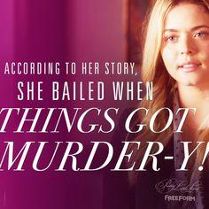 Pretty Little Liars: The Perfectionists Alison Pretty Little Liars, Watch Pretty Little Liars, Pretty Little Liars Quotes, Little Things Quotes, Pll Quotes, Popular People, Abc Family, Editing Pictures, Best Shows Ever