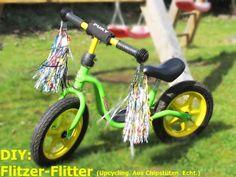 Upcycling: Flitter für kleine Flitzer