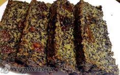 Érdekel a receptje? Clean Eating Sweets, Poppy Cake, Vegetarian Recipes, Healthy Recipes, Healthy Sweets, Banana Bread, Healthy Living, Low Carb, Snacks