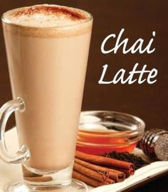 Homemade Chai Latte--- easy recipe from our friend Dr. Josh Axe Ingredients:   1 cup almond milk 1 Tbsp. grade B maple syrup Sprinkles of nutmeg, cinnamon & clove (to taste) Mix all ingredients in a saucepan and cook over medium heat until warm.