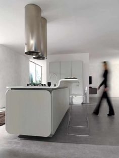 High Quality White Contemporary IT IS Kitchen Design Ideas For Euromob Modern Kitchen