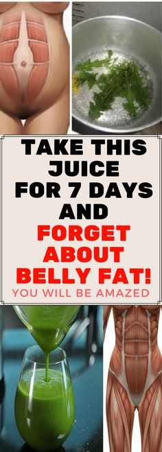 Belly Fat Burner Workout - Take This Juice For 7 Days and Forget About Belly Fat. Get the Complete Lean Belly Breakthrough System Lower Belly Fat, Burn Belly Fat Fast, Fat Belly, Lose Belly, Flatten Belly, Detox Drinks, Healthy Drinks, Healthy Food, Lose Fat