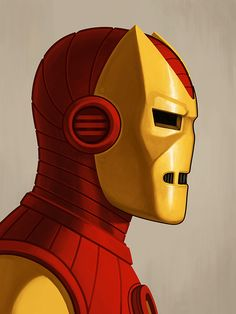 Marvel Illustrations by Mike Mitchell