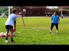 Soccer Goalkeeper Drills for High Balls, Footwork, and the Drop Step Football Coaching Drills, Soccer Drills For Kids, Soccer Practice, Soccer Skills, Kids Soccer, Goalkeeper Drills, Goalkeeper Training, Soccer Training, Youtube Soccer