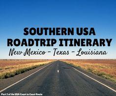 USA Itinerary 3 Weeks South USA Roadtrip