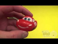 Surprise Eggs Frozen Play Doh Opening Disney Cars Can Filled  Huge JUMBO...