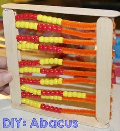 Hey friends! I am so excited to link up to the Bright Ideas Hop for March. Today I'm going to share how to make your own DIY abacus! ...