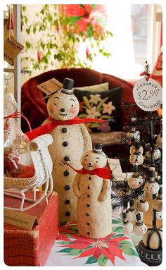 Snowmen-Group by Johanna Parker Design, via Flickr
