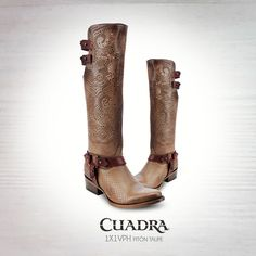 #CUADRA #Boots #Botas #Exotic #Leather