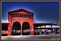 "EASTERN MARKET   Detroit, Michigan  **Get ready for a wonderful walk!!  <==One of my FAVORITE places to visit when I'm ""home""..."