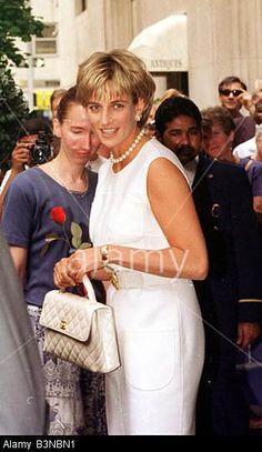 Princess Diana in New York June 1997