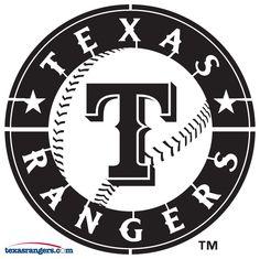 Texas Rangers pumpkin carving stencil!