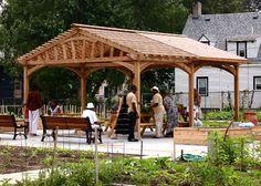 Trellis Structures -Community Garden Pergola No. CPG9