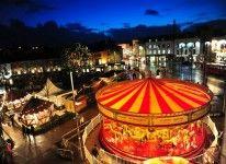 Celebration vibes have reached had already started in and : Belfast City, Edinburgh Scotland, Celtic, Ireland, Irish, Table Decorations, Marketing, Holiday Decor, Christmas