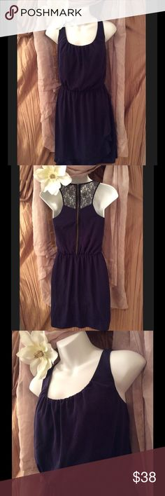 GIANNI BINI DRESS💕💕 😍Beautiful Blue GIANNI BINI DRESS Size Small, In Great Condition No rips or stains, Has a Beautiful Black Lace zipped back and a cute riffle going up Bolton of dress. Very Pretty Dress. 💕Shell Made of 💯 % Polyester: Combo: 💯 % Nylon LINNING: 💯 Polyester. If you have any questions please feel free to ask. 👍💕Also, thank you so much for visiting my closet. I hope you find something that you Love. Put your posh name in the comments and I will check out your closet as…