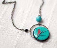 'Image of Spring' bird Jewelry  via adorn512