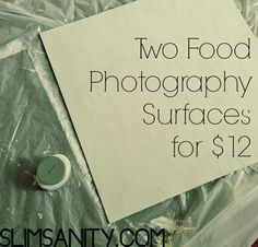 two food photography surfaces for $12