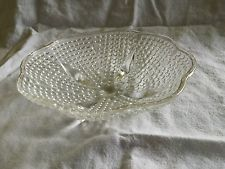 Vintage crystal Candy dish.