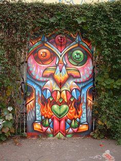 Street door art