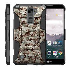 LG Stylus 2 Case | LG G Stylo 2 Case [Hyper Shock] High Duty Proof Belt Clip New #TurtleArmor