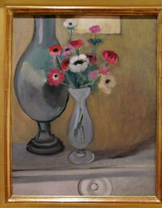Henri Matisse 1869-1964 Vase of Anemones, 1918. oil on canvas SFMOMA