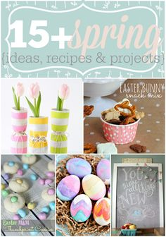 Over 15 Spring Ideas