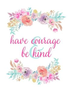 Free Cinderella Printables - 5 corresponding designs with quotes from the New Cinderella Movie that are perfect for both home decor and party decor! New Cinderella Movie, Cinderella Birthday, Have Courage And Be Kind, Party Decoration, Wall Art Quotes, Door Quotes, Wedding Quotes, Disney Quotes, Floral Invitation