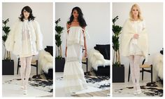 Houghton Bridal Fall 2016: Vintage Inspired Wedding Dresses