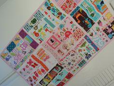 I Spy Quilt, Todder, Children Easy Pattern Tutorial w Photos, pdf