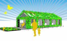 Groentehuis op Camping Geversduin - de Kennemer Duincampings - Gereed in 2013