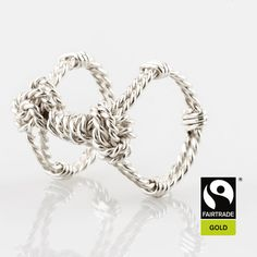 Double Ring Rope Ring with wrapping - Rope Jewelry, Double Ring, Bespoke Jewellery, Wrapping, Wraps, Jewelry Design, Bracelets, Rings, Handmade
