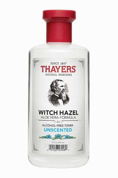 Thayers Alcohol-Free Unscented Witch Hazel TonerYou Won't Smell It, But You'll Surely Feel It.THAYERS® Alcohol-Free Unscented Witch Hazel and Aloe Vera Formula Toner has all the replenishing, revitalizing magic of our scented varieties, but is undetectable by the nose.Fragrance-Free • Paraben-Free • Naturally Preserved • Hypoallergenic12 oz. bottle