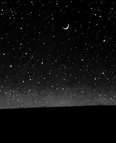 """ For the first time, in that night alive with signs and stars, I opened myself to the gentle indifference of the world. "" Albert Camus ""Devant cette nuit chargée de signes et d'étoiles, je m'ouvrais. Look At The Stars, Stars And Moon, Sky Moon, Stars At Night, Constellations, You Are My Moon, Beautiful Moon, Nocturne, Milky Way"
