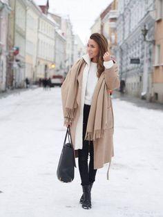 White Oversize Hooded Cardi