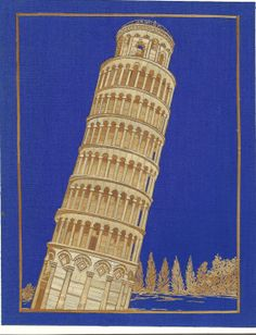 Leaning Tower of Pizza  Italian architecture.  by museumshop, $99.00